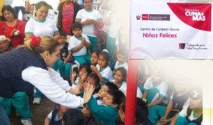"""Trujillo: Midis inaugura locales de Programa Nacional """"Cuna Más"""""""