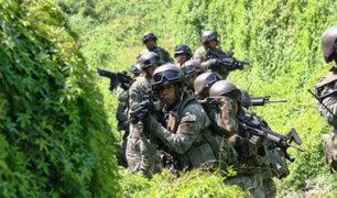 Vraem: militar muere durante enfrentamiento entre Ejército y terroristas