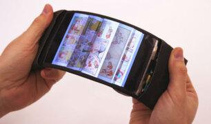 El celular flexible ofrece experiencia única