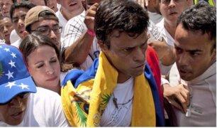 Venezuela: corte ordena arresto de Leopoldo López