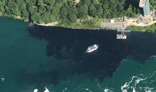 EEUU: investigan descarga de aguas negras en cataratas del Niágara