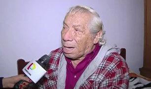 Cómico Guillermo Campos fue desalojado de su vivienda