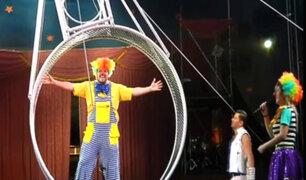 'Claqueta' aceptó arriesgado reto en circo y no creerás lo que sucedió