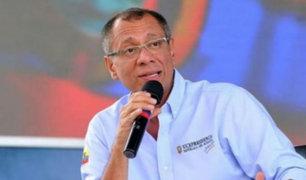 Ecuador: Jorge Glas responde tras ser acusado de pedir dinero a Odebrecht