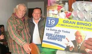 Alcalde de Comas llevó ayuda para cómico Guillermo Campos
