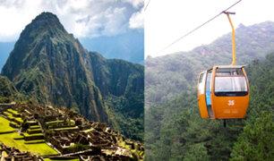 Gobierno evalúa implementar un teleférico para acceder a Machu Picchu