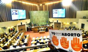 Chile: Congreso aprobó despenalización del aborto para tres casos