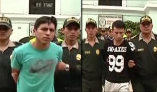 """Santa Beatriz: capturan a peligrosos """"raqueteros"""" que se escondían en vivienda"""