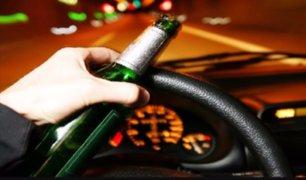 Santa Beatriz: chófer choca vehículo en presunto estado de ebriedad