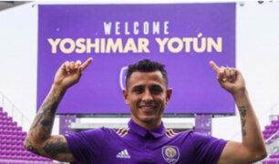 Malmo FF de Suecia oficializó el traspaso de Yoshimar Yotún al Orlando City