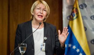 Ministerio Público del Perú lamenta destitución de la Fiscal General de Venezuela