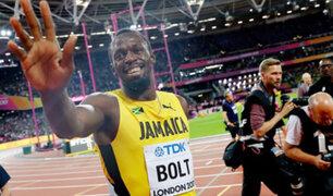 VIDEO: Usain Bolt se despide del atletismo con derrota en los 100 metros