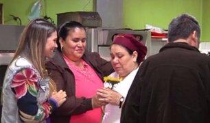 Reunión inolvidable: María vuelve a ver a sus hijos tras 10 largos años