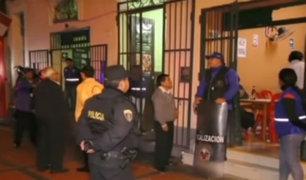 Centro de Lima: clausuran bares y hostales que eran prostíbulos