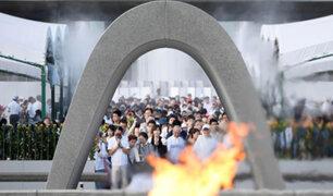 Japón: se conmemoraron 72 años de la bomba de Hiroshima
