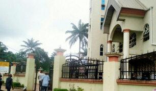 Once muertos tras ataque a una iglesia en Nigeria