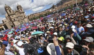 Continúa la huelga de maestros en diversas provincias