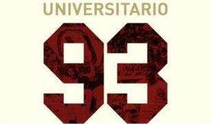 Así celebra Universitario de Deportes su 93 aniversario