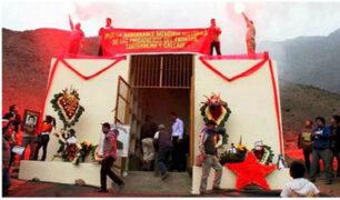 Promulgan ley que permitirá demoler mausoleo de Sendero Luminoso en Comas