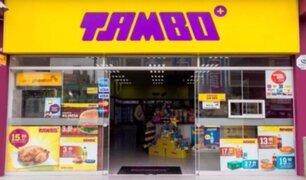 'Tambo' muestra sistema de seguridad en sus locales