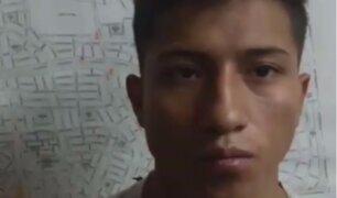 San Borja: delincuente cumplía arresto domiciliario, pero participó de asalto
