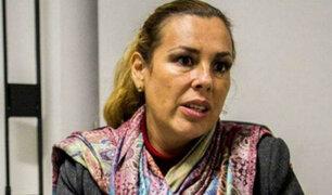 Caso Chinchero: Fiorella Molinelli no asistió a interrogatorio
