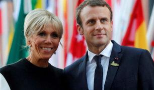 Francia: no quieren a Brigitte Macron como primera dama