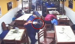 Villa El Salvador: delincuentes armados asaltan pizzería