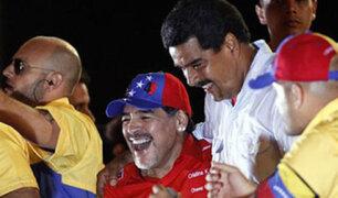 """Maradona se ofrece como """"soldado de Maduro para pelear por Venezuela"""""""
