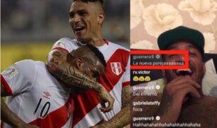 Instagram: Guerrero y Farfán se divierten en redes sociales