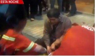 San Isidro: balean a cambista en frustrado intento de asalto