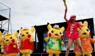 Pokemón: miles de fanáticos participaron en festival de Pikachu