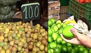 Mercado Mayorista de Santa Anita: ¿Porqué el limón está tan caro?