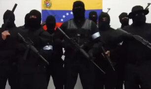Venezuela: nuevo grupo armado se rebela contra presidente Maduro