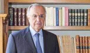 Oficializan candidatura de Augusto Ferrero al Tribunal Constitucional