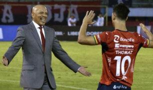 Roberto Mosquera en cuartos de final de la Copa Libertadores con Jorge Wilstermann