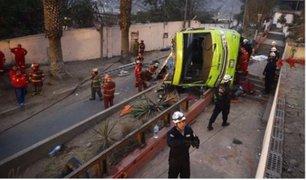 Indecopi sancionaría a empresa  'Green Bus' por accidente en Cerro San Cristóbal