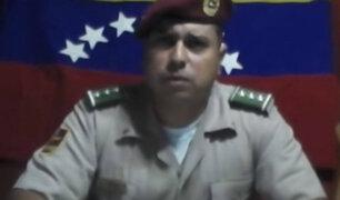 Venezuela: capturan a cabecilla de los militares insurrectos