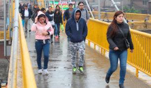 Lima registrará más del 95% de humedad este fin de semana