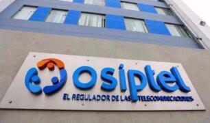 Osiptel extiende hasta el lunes 15 de junio plazo para que operadoras suspendan servicios