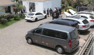 Subastarán vehículos de lujo de Peter Ferrari y Gerald Oropeza