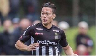 Cristian Benavente marcó golazo en la liga de Bélgica