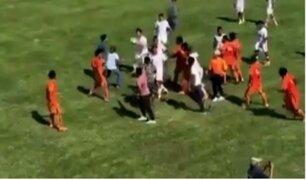 Piura: partido de la Copa Perú termina en balacera