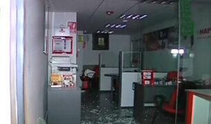SMP: asaltan conocida aseguradora y se llevan importante suma de dinero