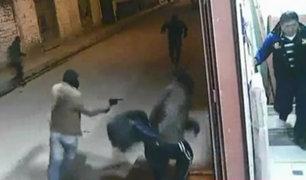 Huancayo: dueño de tienda hace correr a balazos a delincuentes