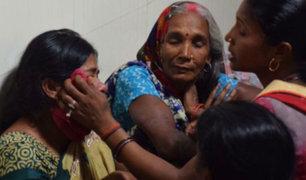 India: 64 niños mueren por falta de oxígeno en hospital