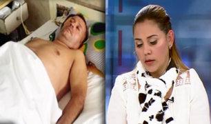 Esposa de venezolano que cayó de cuarto piso en El Agustino solicita ayuda