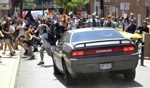 """EEUU: Atropello en Charlottesville es """"terrorismo doméstico"""""""