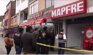 SMP: cámaras de seguridad registran robo a conocida empresa de seguros