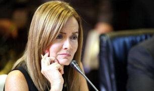Marilú Martens confirma que se presentará ante la comisión de Educación del Congreso